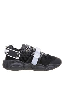 Moschino - Teddy Roller Skates sneakers in black