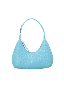 By Far - Borsa Baby Amber cocco color Lagoon