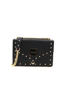 Versace Jeans Couture - Studs crossbody bag in black