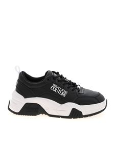 Versace Jeans Couture - Branded sneakers in black