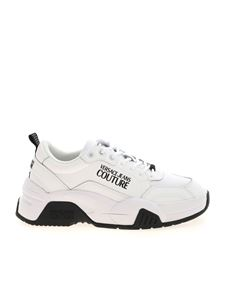 Versace Jeans Couture - Branded sneakers in white