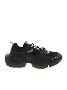 Versace Jeans Couture - Oversize sole sneakers in black