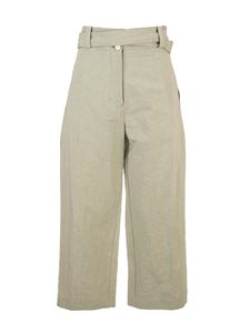 Moncler Genius - Cropped trousers in khaki