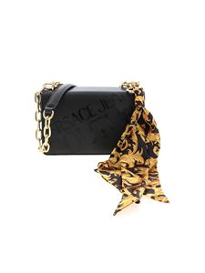 Versace Jeans Couture - Foulard crossbody bag in black