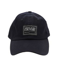 Versace Jeans Couture - Logo label cap in blue