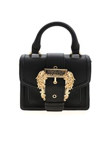 Versace Jeans Couture - Baroque buckle crossbody bag in black