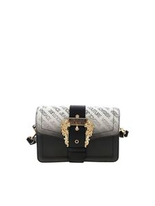 Versace Jeans Couture - Lettering logo bag in black