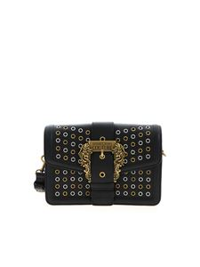 Versace Jeans Couture - Eyelets crossbody bag in black