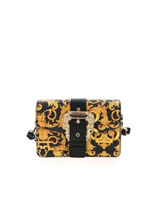 Versace Jeans Couture - Baroque print bag in black