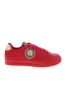 Versace Jeans Couture - V Emblem sneakers in red