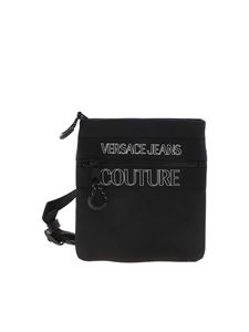 Versace Jeans Couture - Logo crossbody bag in black