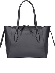 Tod's - Grainy leather small handbag in black