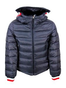 Moncler Jr - Giroux down jacket in blue