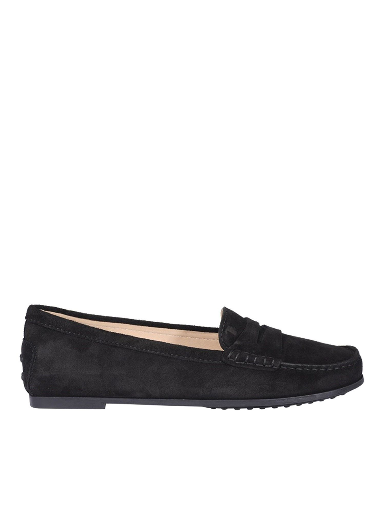 Tod's CITY GOMMINO LOAFERS IN BLACK