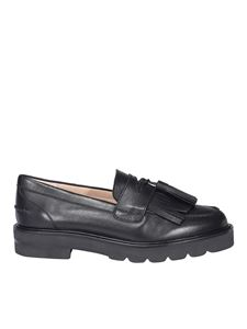 Stuart Weitzman - Mila Lift loafers in black