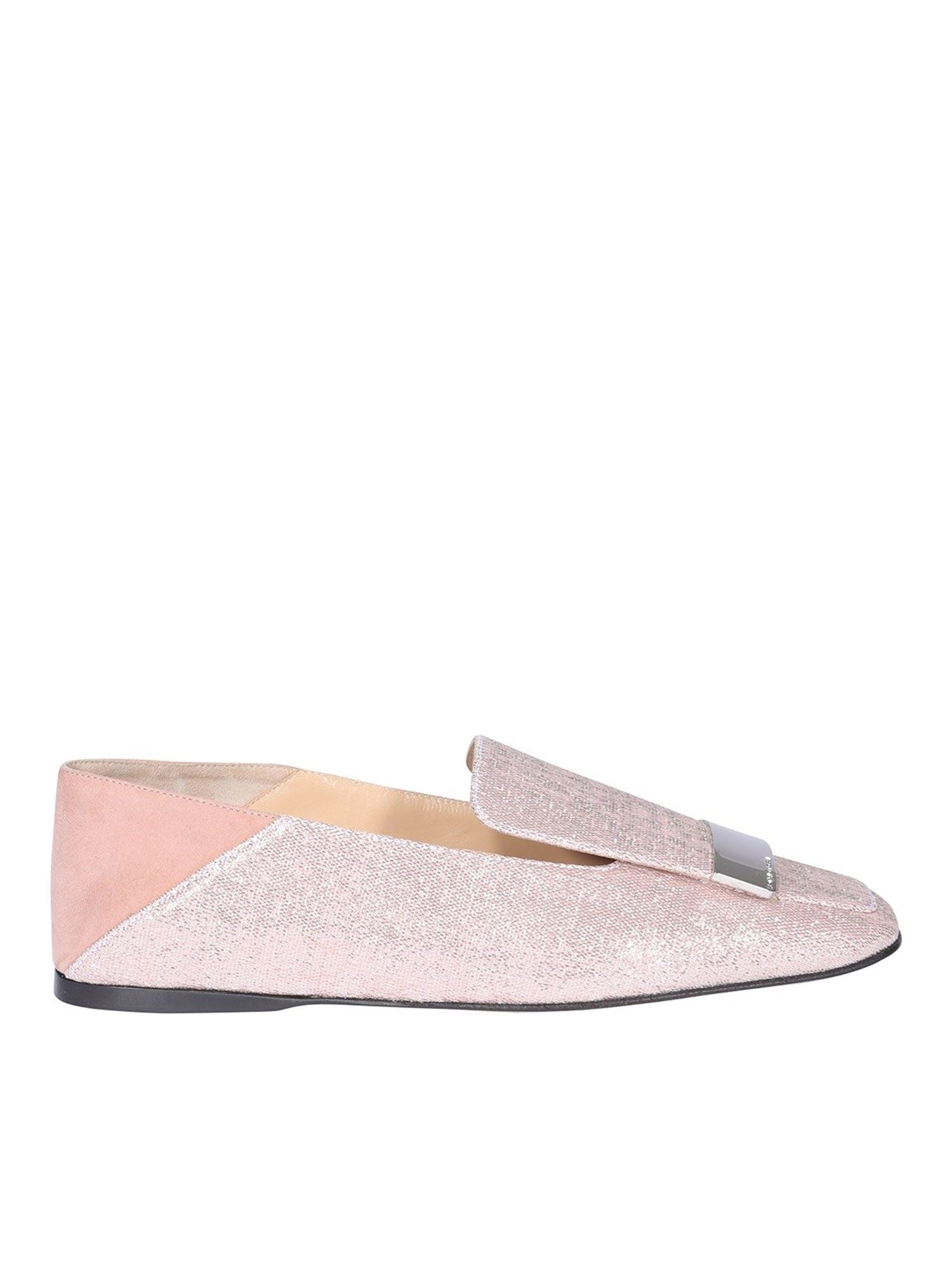 Sergio Rossi SR1 LOAFERS IN PINK