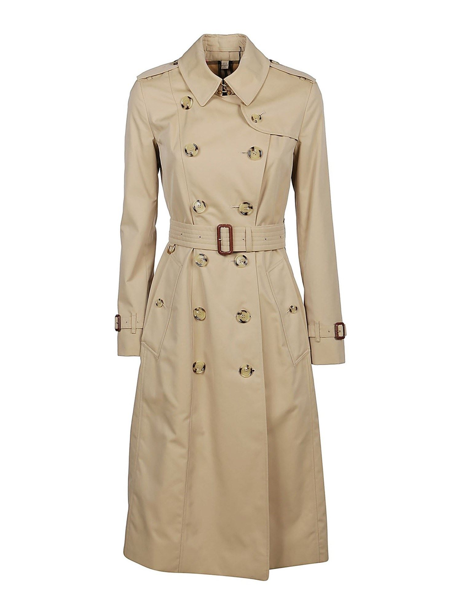 Burberry THE LONG CHELSEA HERITAGE BEIGE TRENCH COAT