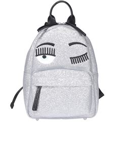 Chiara Ferragni - Flirting backpack in silver color