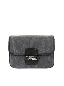 Etro - Paisley jacquard bag in black