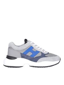 Hogan - Highlight sneakers in grey and blue