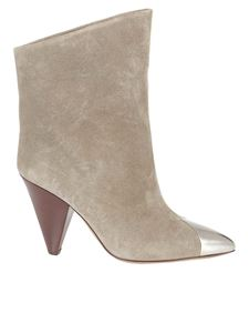Isabel Marant - Lapee ankle boots in grey