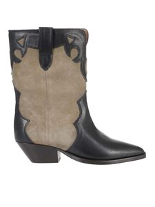 Isabel Marant - Duoni ankle boots in dark grey