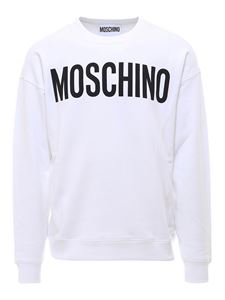 Moschino - Logo lettering sweatshirt in white
