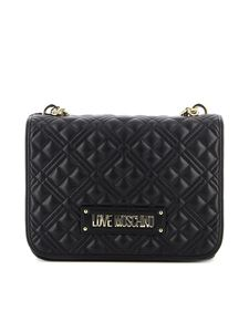 Love Moschino - New Shiny quilted bag in black