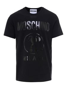 Moschino - Logo lettering T-shirt in black