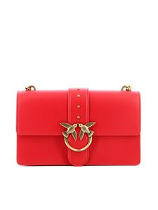 Pinko - Love Icon bag in red