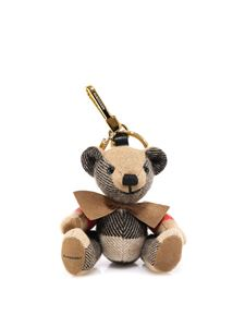 Burberry - Thomas key holder in beige