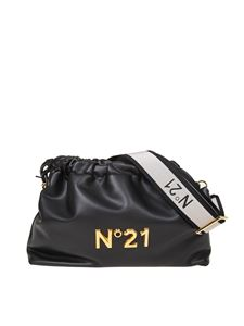 N° 21 - Eva Pouch bag in black