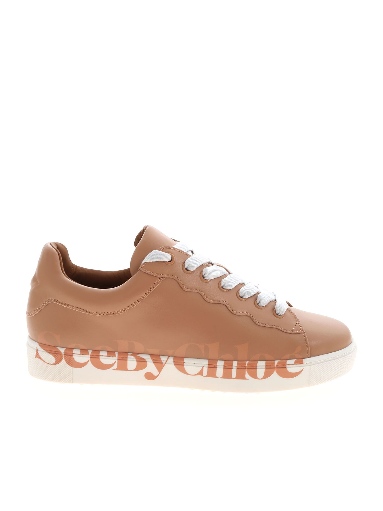 See By Chloé BENARES SNEAKERS IN NUDE COLOR