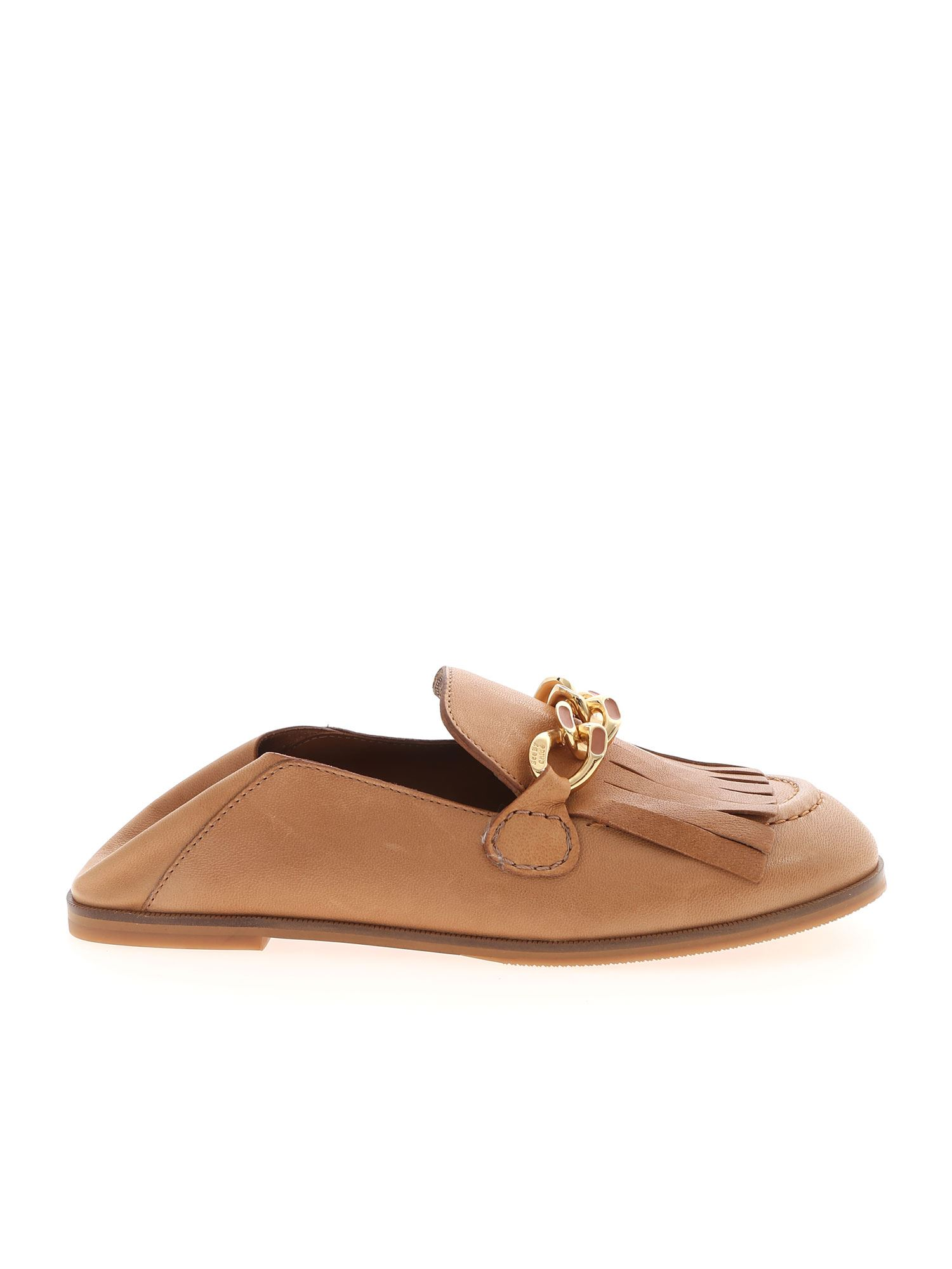 See By Chloé DANDY MULES IN SAND COLOR