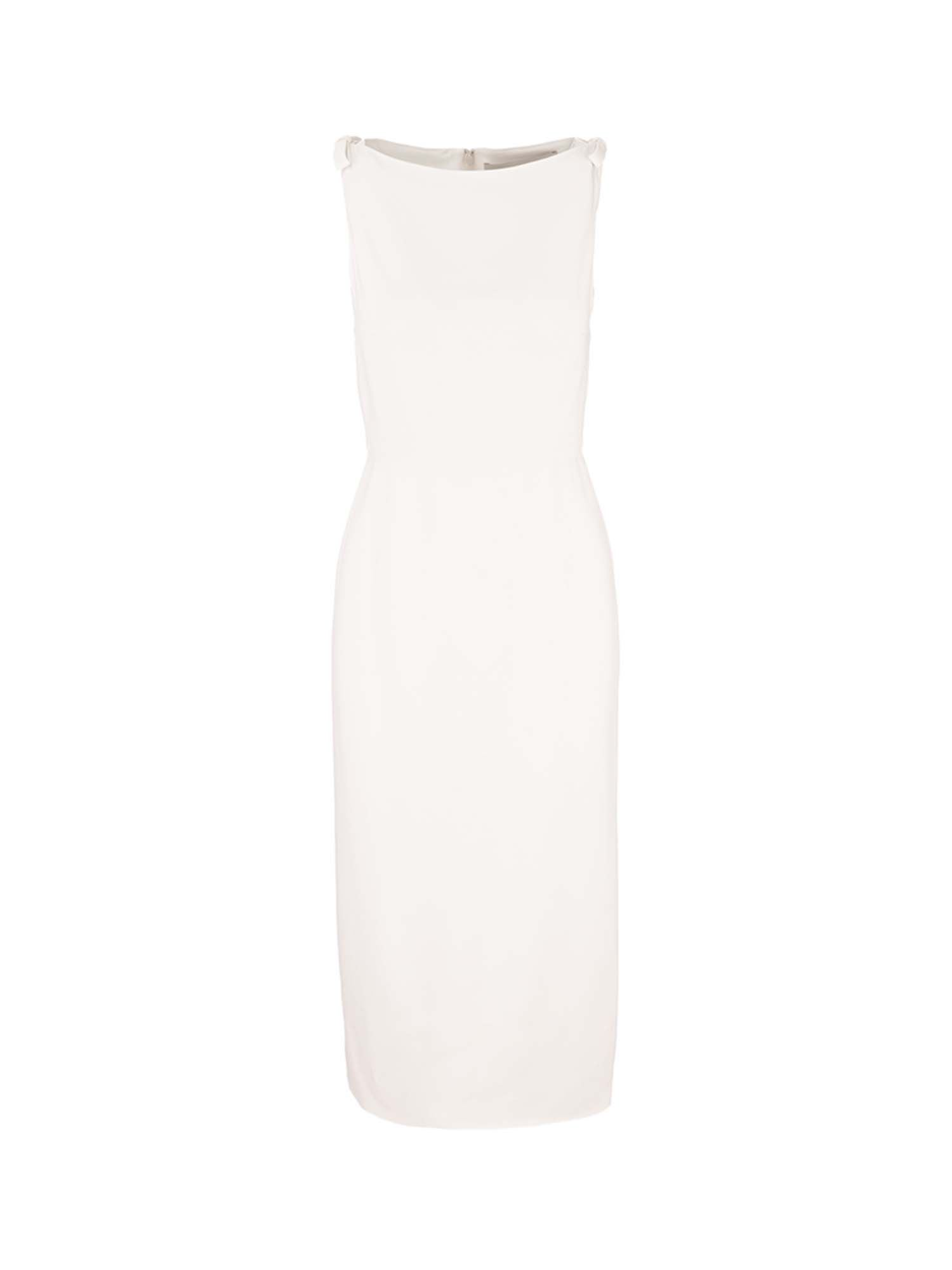 Valentino Dresses SHEATH DRESS IN WHITE