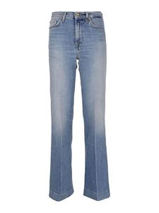 7 For All Mankind - Modern Dojo into You jeans in light blue