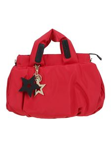 See by Chloé - Textured nylon handbag in red