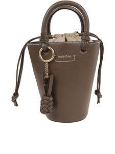 See by Chloé - Cecilya small leather bag in brown
