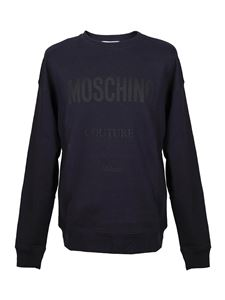 Moschino - Logo sweatshirt in blue