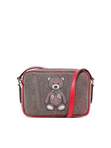 Etro - Teddy print Toy bag in brown