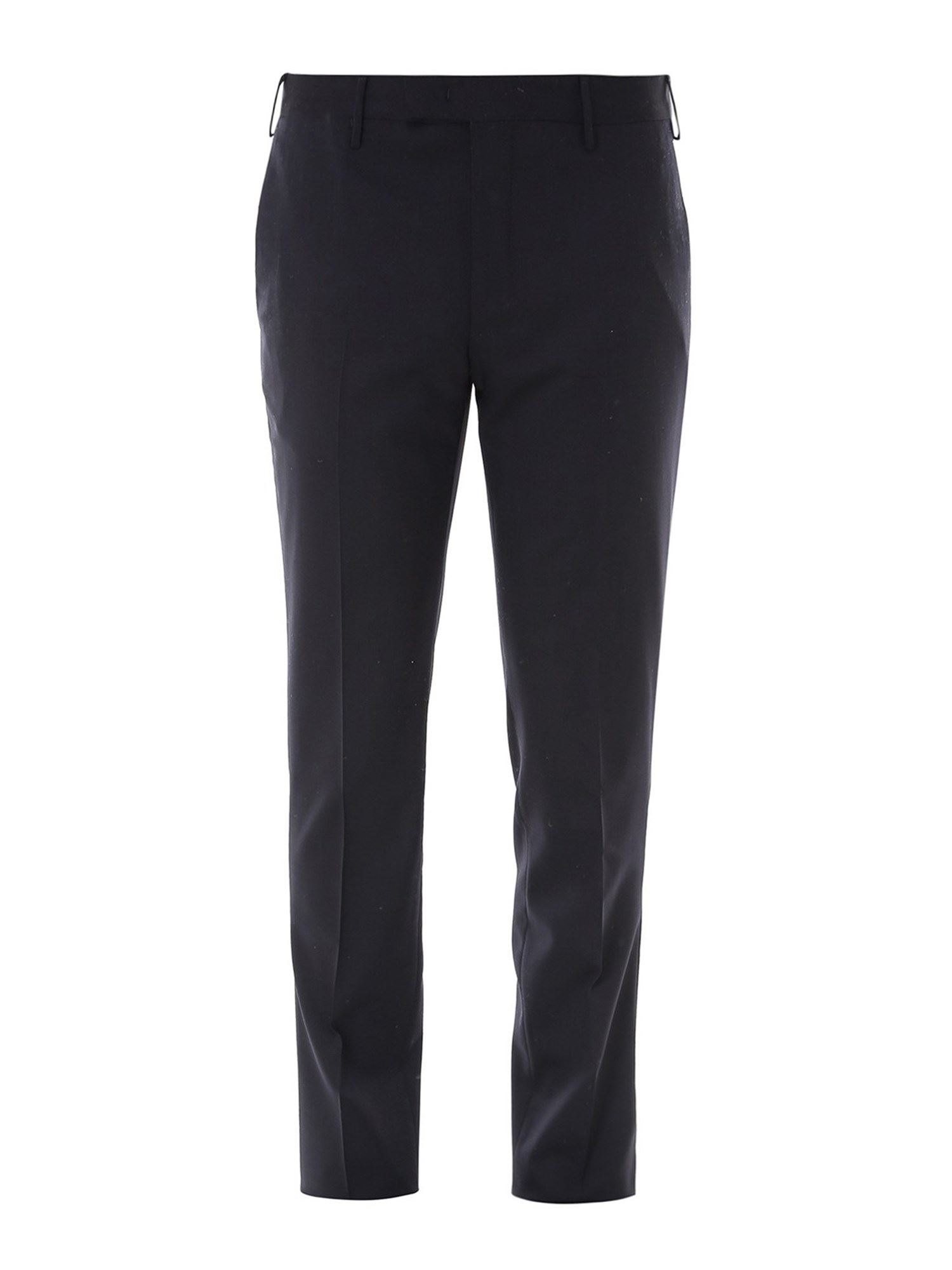 Pt Torino Stretch Wool Chino Pants In Blue