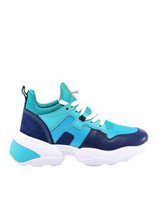 Hogan - Interaction sneakers in shades of blue