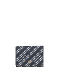 Givenchy - Givenchy Chaîne tri-fold wallet in blue