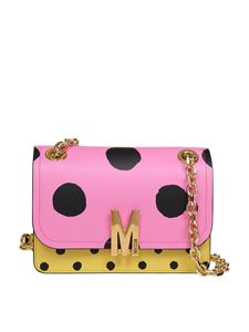 Moschino - Polka dot bag in pink and yellow
