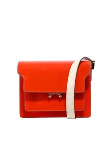 Marni - Trunk patent leather bag in red