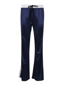 Marni - Smooth jersey pants in blue