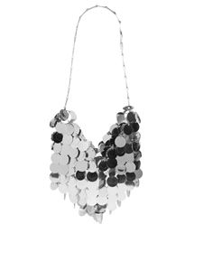 Paco Rabanne - Sparkle hobo bag in silver