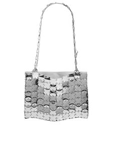 Paco Rabanne - 1969 square bag in silver color