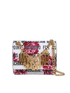 Moschino - Lettering logo bag in white