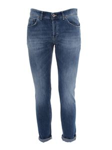 Dondup - Faded effect jeans in blue